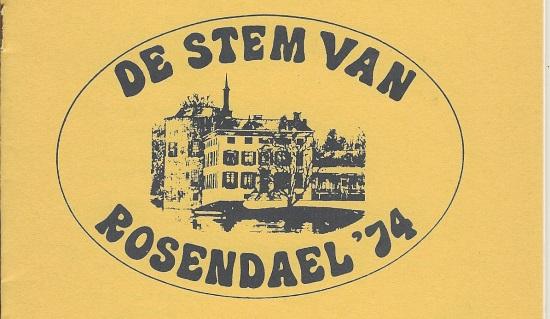 De Stem van Rosendael '74